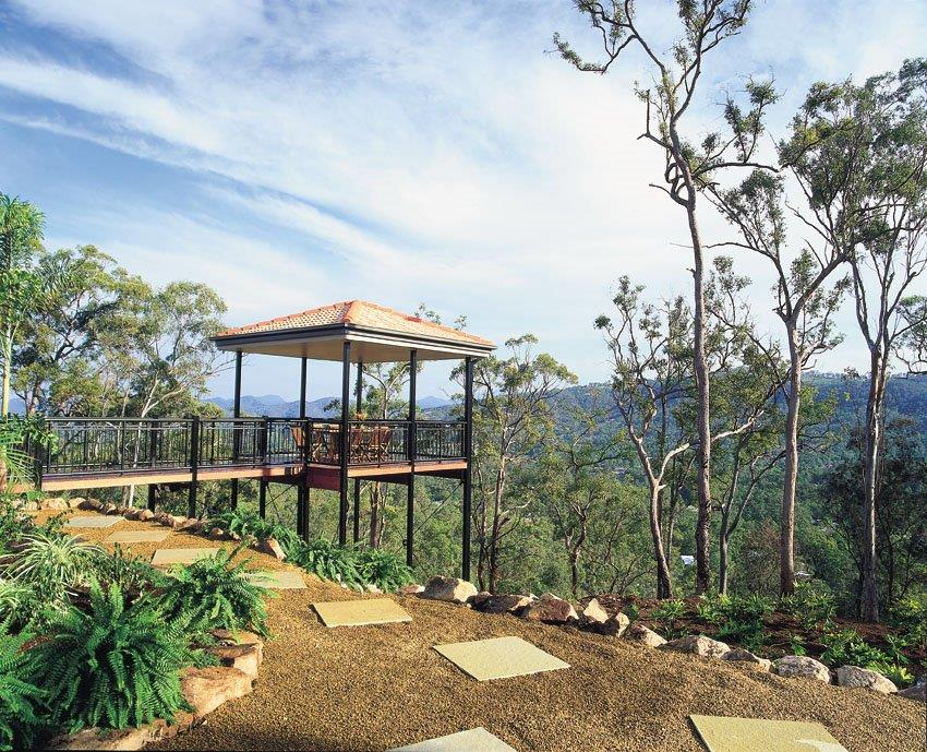 Difficult sites qld coast constructions for Garden design ideas gold coast